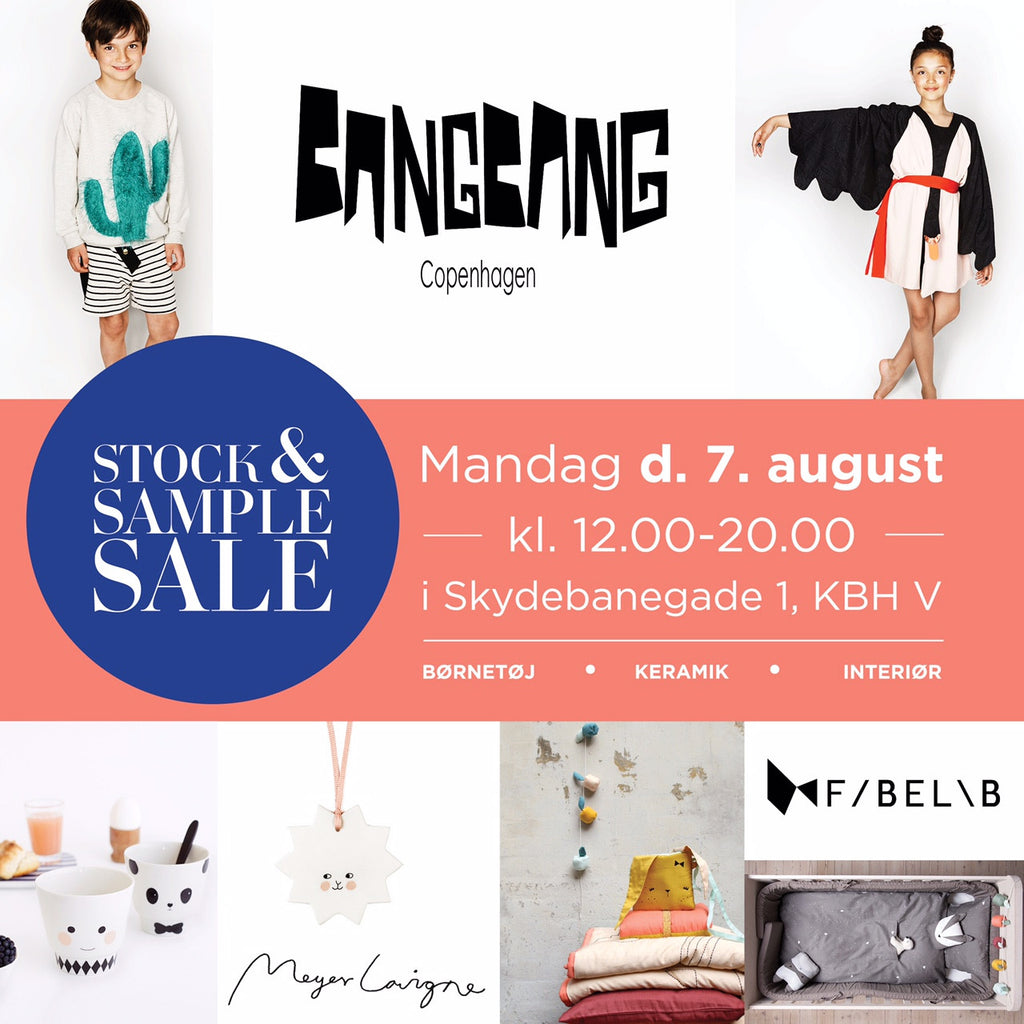 Summer Stock & Sample Sale!