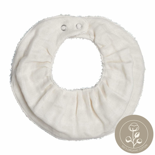 Ruffle Bib - Single - Natural