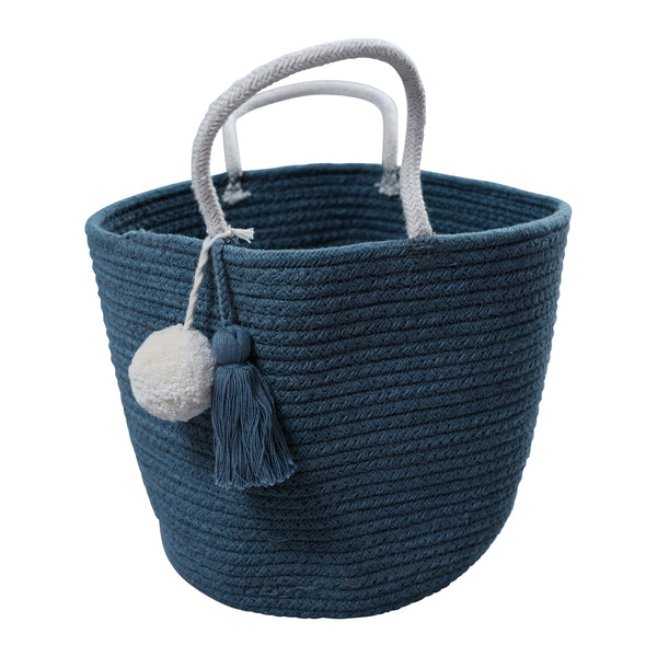 Rope Basket - Small - Blue Spruce
