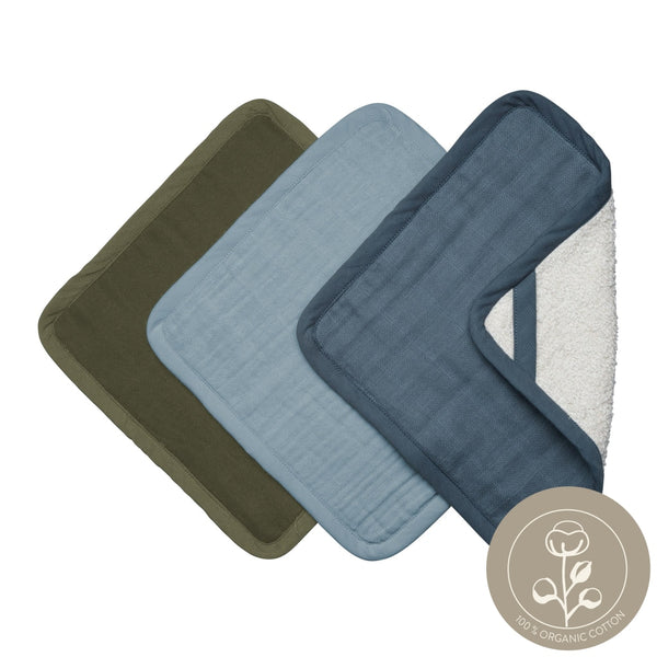 Washcloths - 3 Pack - Coastal