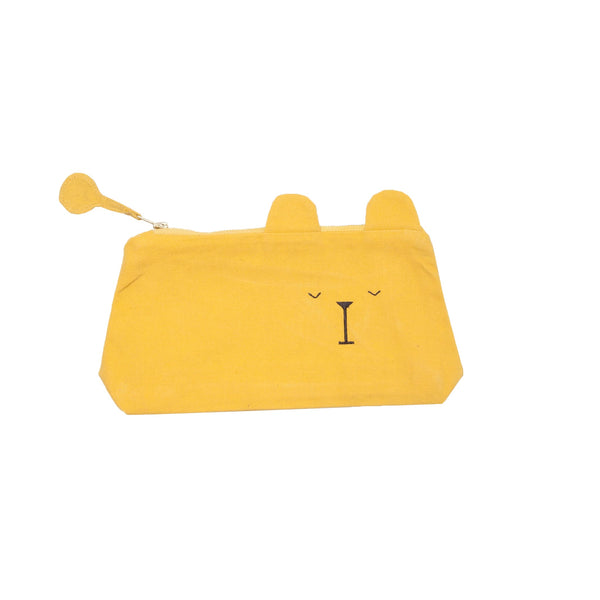 Animal Pencil Case Lazy Bear