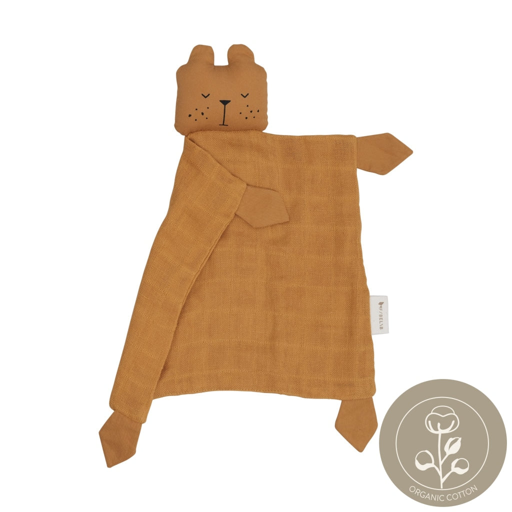 Animal Cuddle Bear- ochre