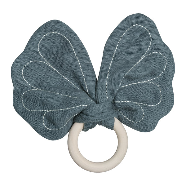 Teether - Butterfly - Blue Spruce