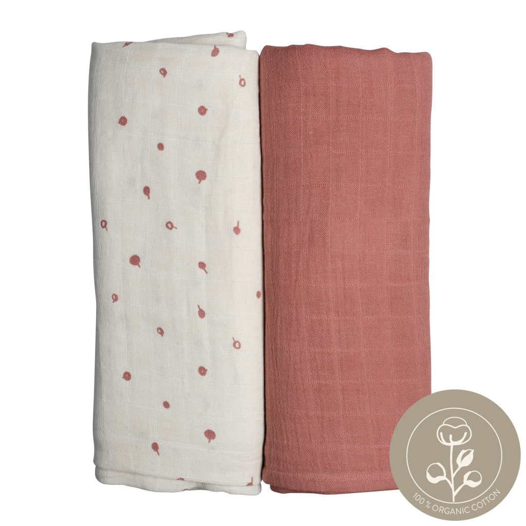 Swaddle - 2 pack - Wild Berry