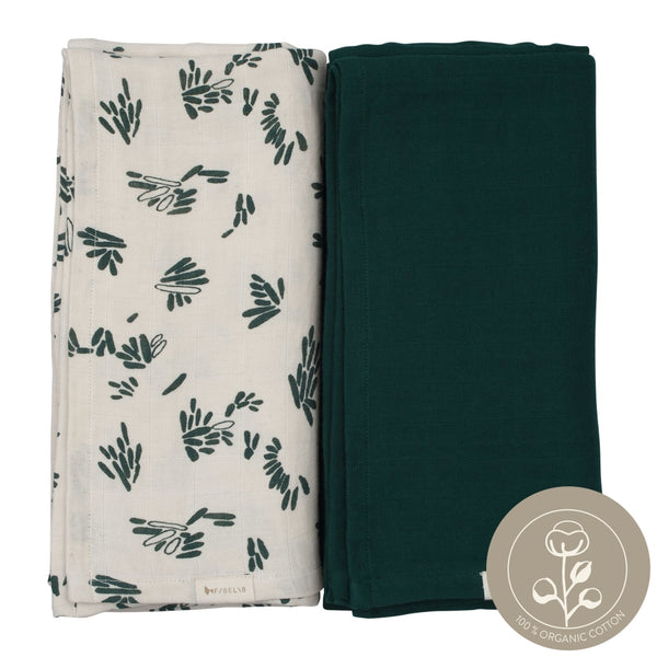 Swaddle - 2 pack - Forest Floor