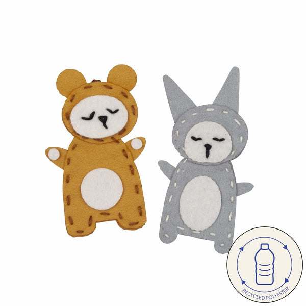 Charm Craft- bear + bunny