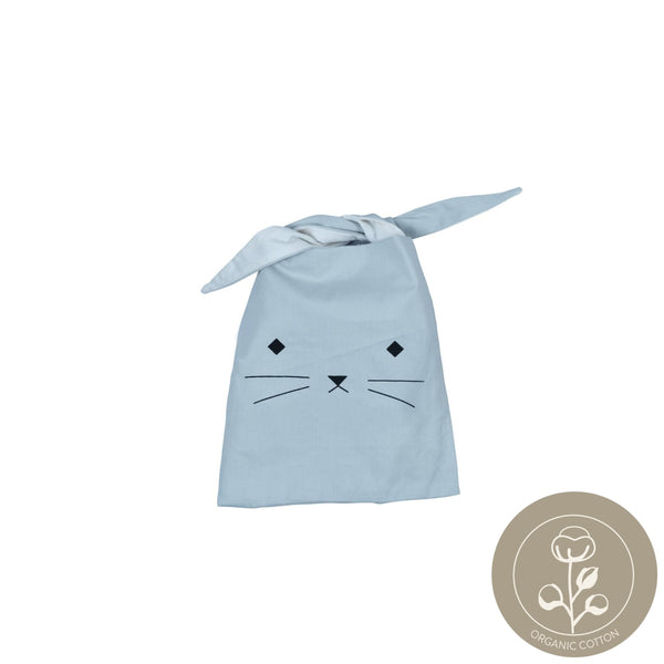 Snack bag - Cat foggy blue