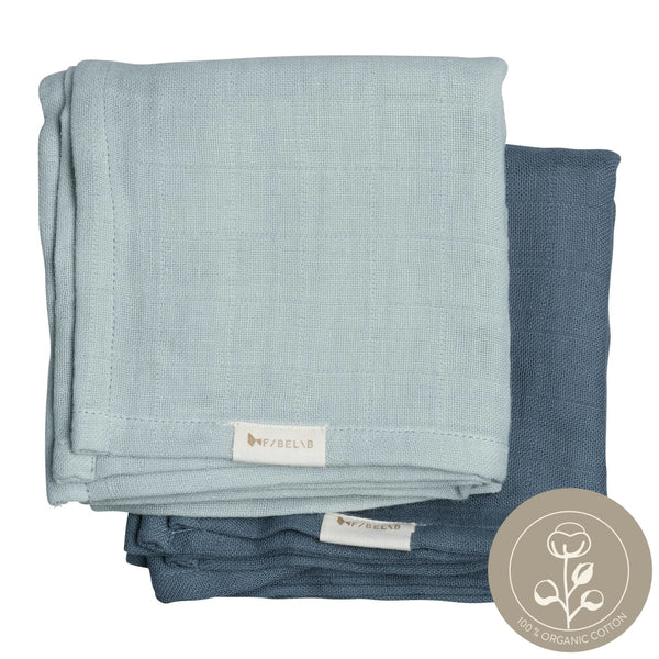 Muslin Cloth - 2 Pack - Sea