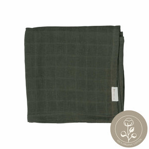 Muslin cloth olive color sustainable design fabelab