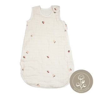 Sleeping bag muslin peach