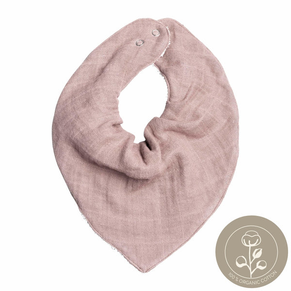 Bandana Bib - Single - Mauve