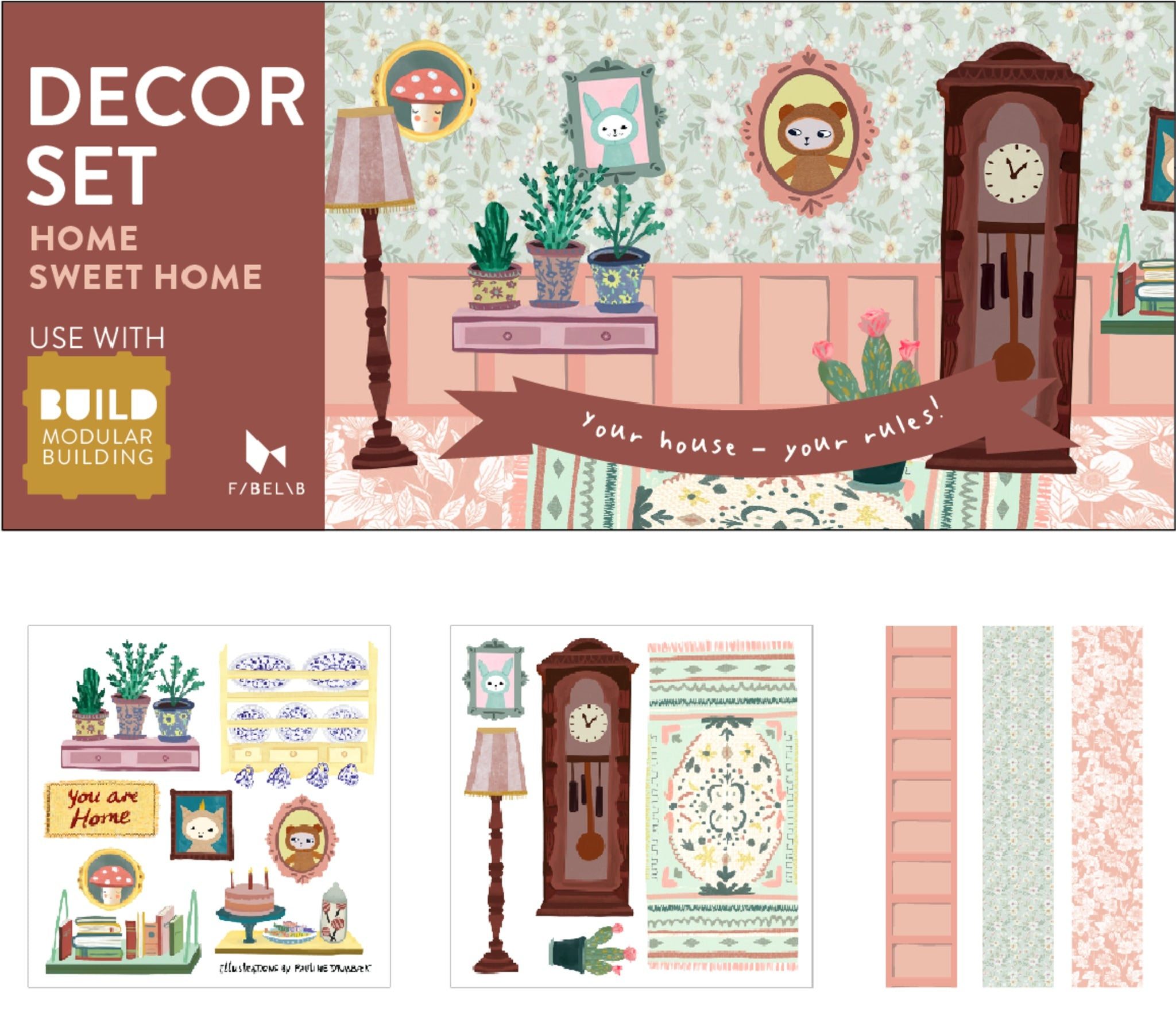 Decor Set - Home Sweet Home