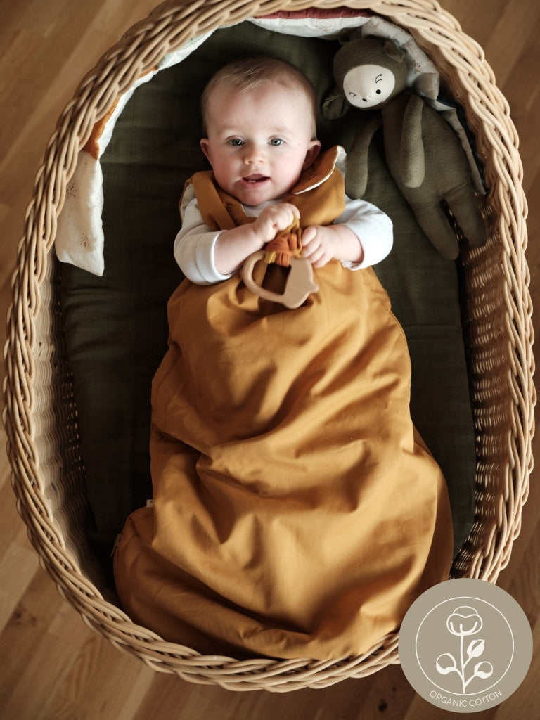 Sleeping Bag - Ochre & Wood - 0-6 month