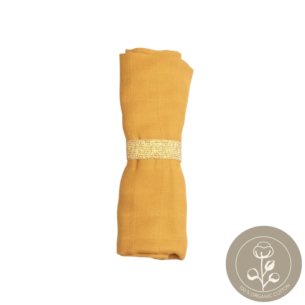 Muslin Cloth - Ochre