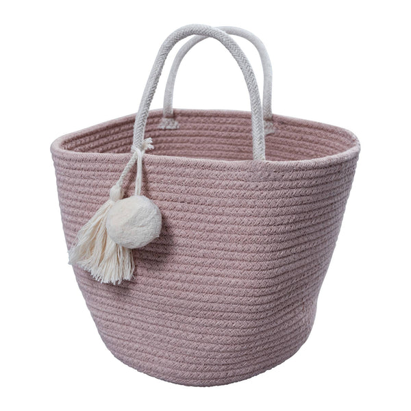 Rope Basket - Small - Mauve