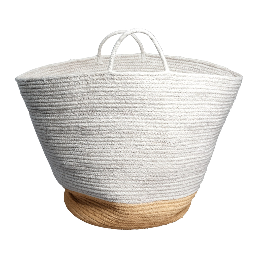 Rope basket - Ochre - Large