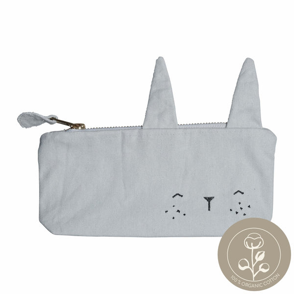 Pencil Case - Bunny - Icy Grey