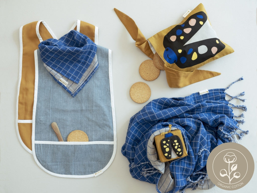 Organic bibs and essentials from fabelab