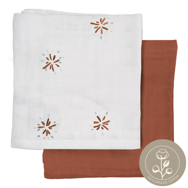 Muslin Cloth - 2 Pack - Dandelion