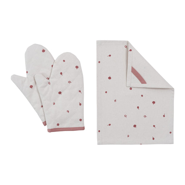 Oven Mitt Play Set - Berry