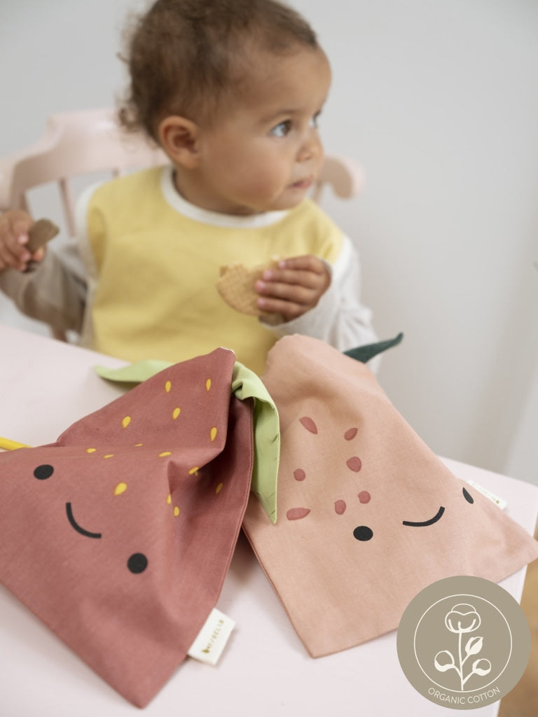 organic cotton snack bag for kids snacks