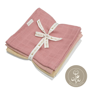 Muslin cloth pastel organic cotton fabelab
