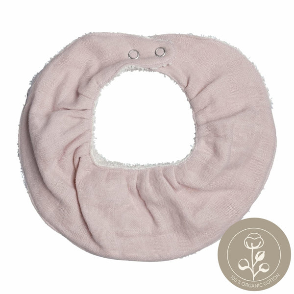 Ruffle Bib - Single - Mauve