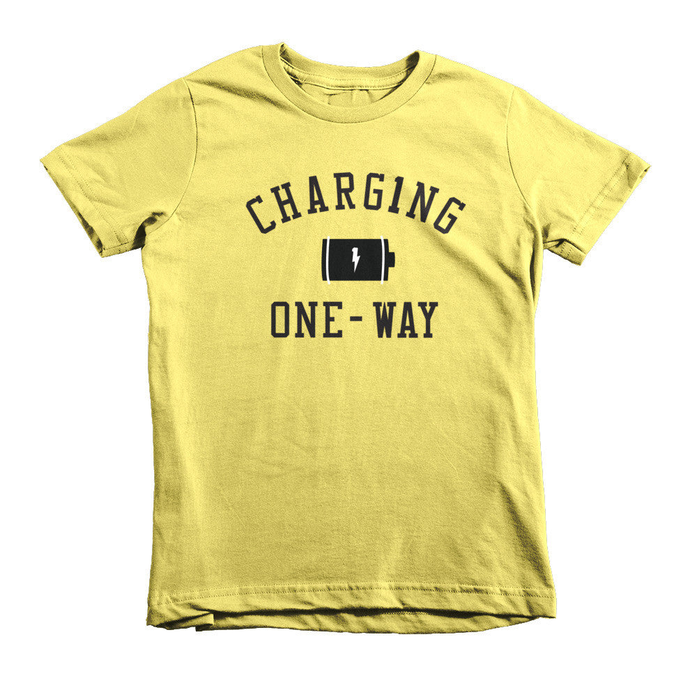 CHARG1NG ONE-WAY CLASSIC TEE KIDS