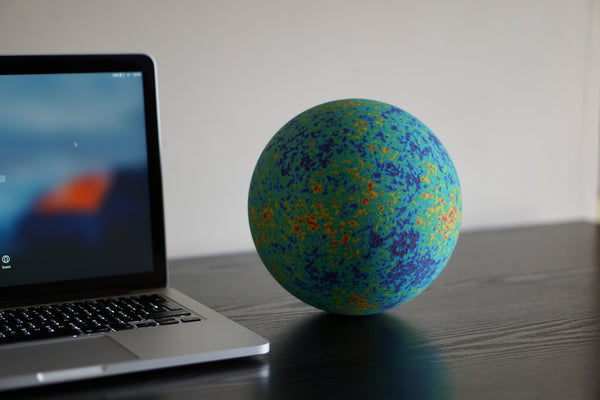 WMAP / Cosmic Background Radiation globe