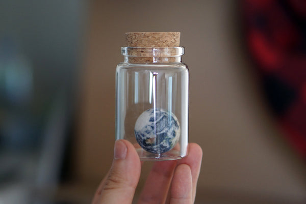 Earth in a Bottle