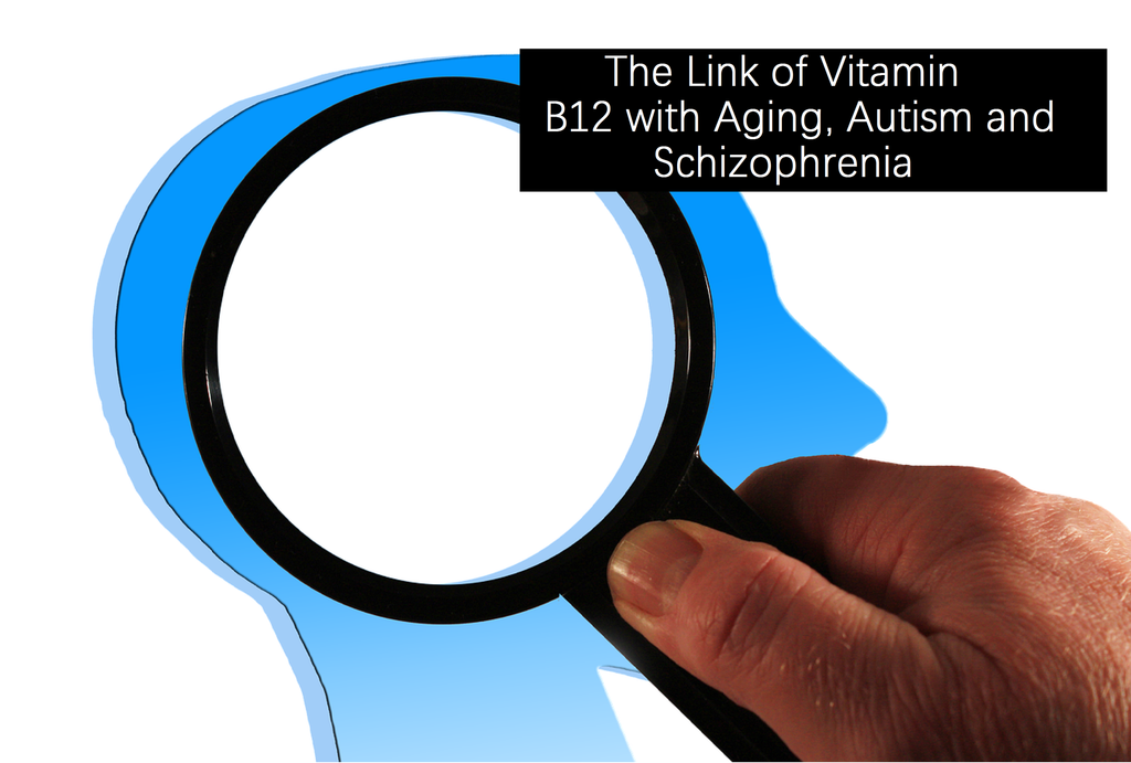 Vitamin B12: Does it have anything to do with Aging, Autism, and Schizophrenia?