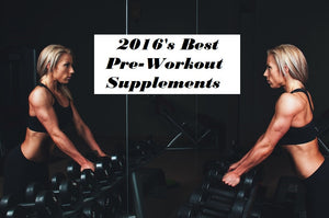 Pure Science's Pre-Workout Supplements of 2016