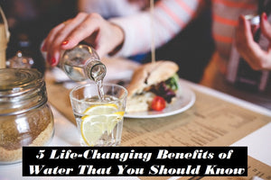 5 Life-Changing Benefits of Consistently Drinking More Water