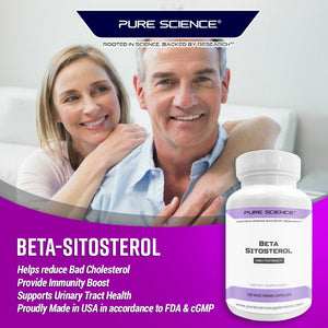 Beta-Sitosterol - 375Mg/Cap - 100 Vegetarian Caps