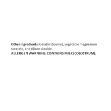 Load image into Gallery viewer, Bovine Colostrum 500mg (Standardized to contain Immunoglobulin 30%) – Boost the Immune System and Supports Digestive Function – 60 Capsules
