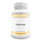 Pure Science Folic Acid 1000mcg - 100 Vegetarian Capsules