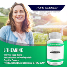 Load image into Gallery viewer, L-Theanine 400mg - 50 Vegetarian Capsules