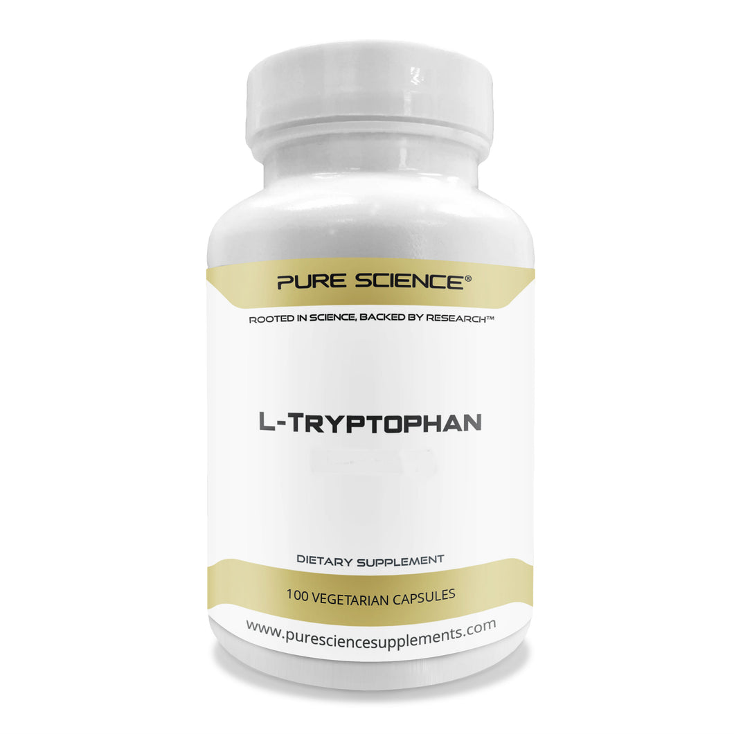 L-Tryptophan - 500Mg/Cap - 100 Vegetarian Caps