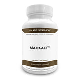 Pure Science Macaali combining Maca Root Powder and Tongkat Ali Extract - 50 Capsules