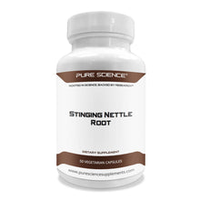 Load image into Gallery viewer, Stinging Nettle Root Extract 500mg (1% Silica) - 50 Vegetarian Capsules