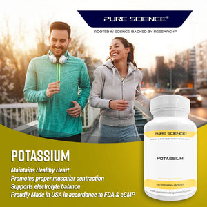 Potassium Gluconate - 595mg with 5mg BioPerine® -100 Vegetarian Caps