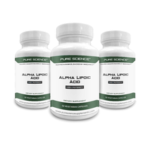 Load image into Gallery viewer, 3 Bottles of Alpha Lipoic Acid - 600Mg/Cap - 150 Vegetarian Caps