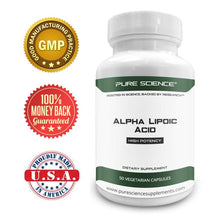 Load image into Gallery viewer, Alpha Lipoic Acid - 600Mg/Cap - 50 Vegetarian Caps