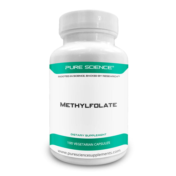 Methylfolate - 1000Mcg/Cap - 100 Vegetarian Caps