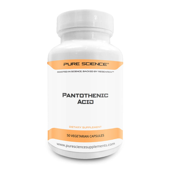Pantothenic Acid (Vitamin B5) - 500Mg/Cap - 50 Vegetarian Caps