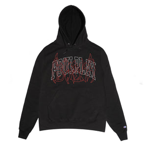 "BURMA x FOULPLAY ""INTERTWINED"" Pullover Hoodie (Black)"