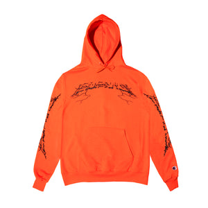 """ENEMY"" Pullover Hoodie (Orange)"
