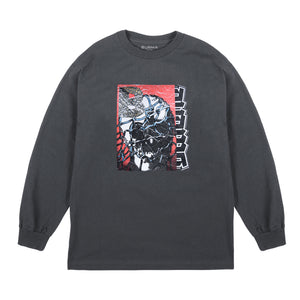 """KNOW YOUR ENEMY"" Long Sleeve T-Shirt (Charcoal)"