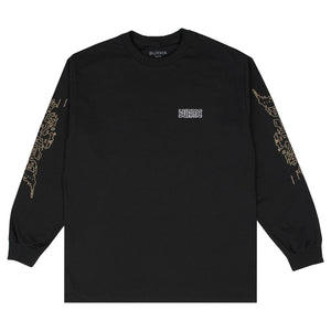 """PLAYABLE AREA"" Long Sleeve T-Shirt (Black)"