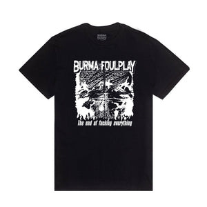 """END OF FUCKING EVERYTHING"" T-Shirt (Black)"